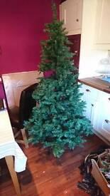 6ft prelit Christmas trew