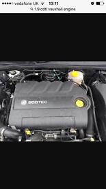 Vauxhall 1.9cdti engine (2008)