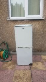 Old but working fridge freezer