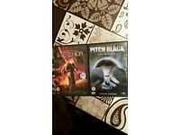 Vin Diesel DVDs- Riddick & Pitch Black