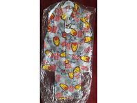 IRONMAN WINTER PYJAMA FLEECE MATERIAL AGE 3-4, 5-6, 9-10 YRS. NEW WITH TAG £5 TWO FOR £9.