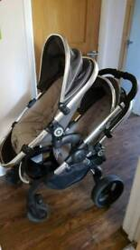 icandy peach 3 two seat system with cot