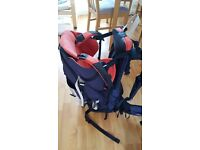 Macpac vamoose back baby child carrier