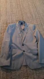 Mens H+M light grey blazer