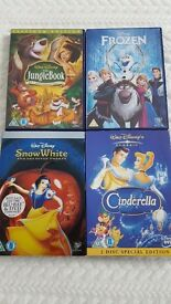 4 x Disney special edition dvds