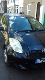 Toyota yaris 5 door 1l air con