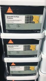 FULL PALLET 38 x 15kg Tubs Sika Sprayable temporary surface protector wholesale Joblot diy stock