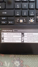 Acer Aspire 5552 for Spares/repairs