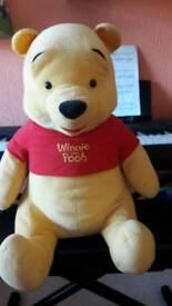 Winnie the pooh plush toy 50cm tall
