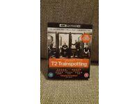 T2 TRAINSPOTTING 4K ULTRA HD + BLU RAY + DIGITAL HD