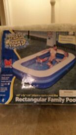 Brand new large paddling pool -charity sale