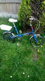 Child's, old bike 1972 vgc gwo