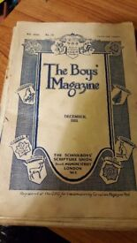 Set of 10 Boys Magazine from 1933