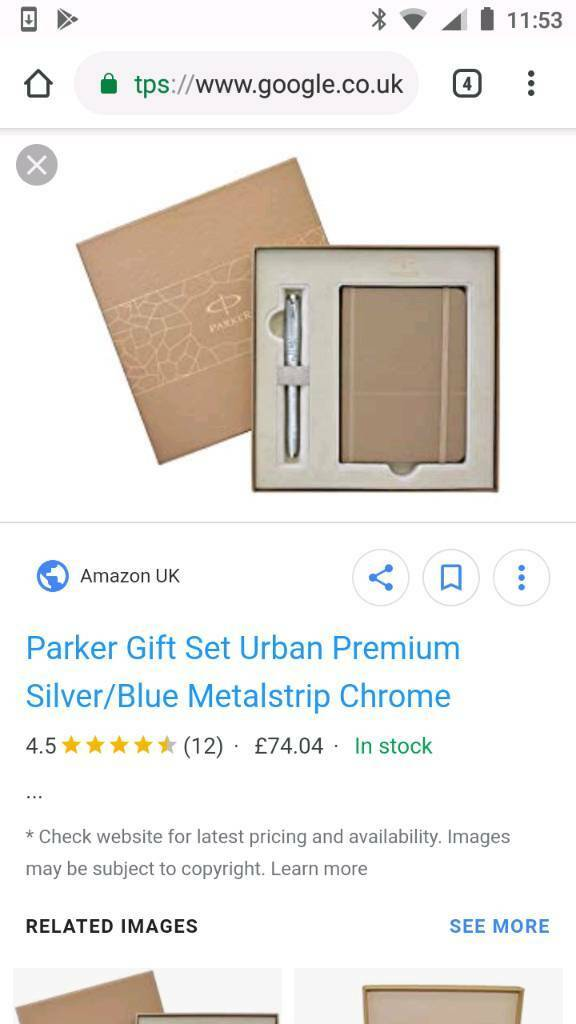 Brand new Parker pen and note book gift set | in Norwich, Norfolk | Gumtree