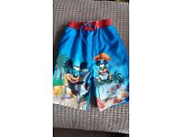 Mickey Mouse Swim shorts 3-4 years