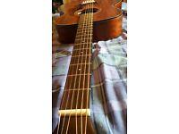 Ibinez AC240 Open Pore Acoustic Guitar (Electro Acoustic) Solid Mahogany Top