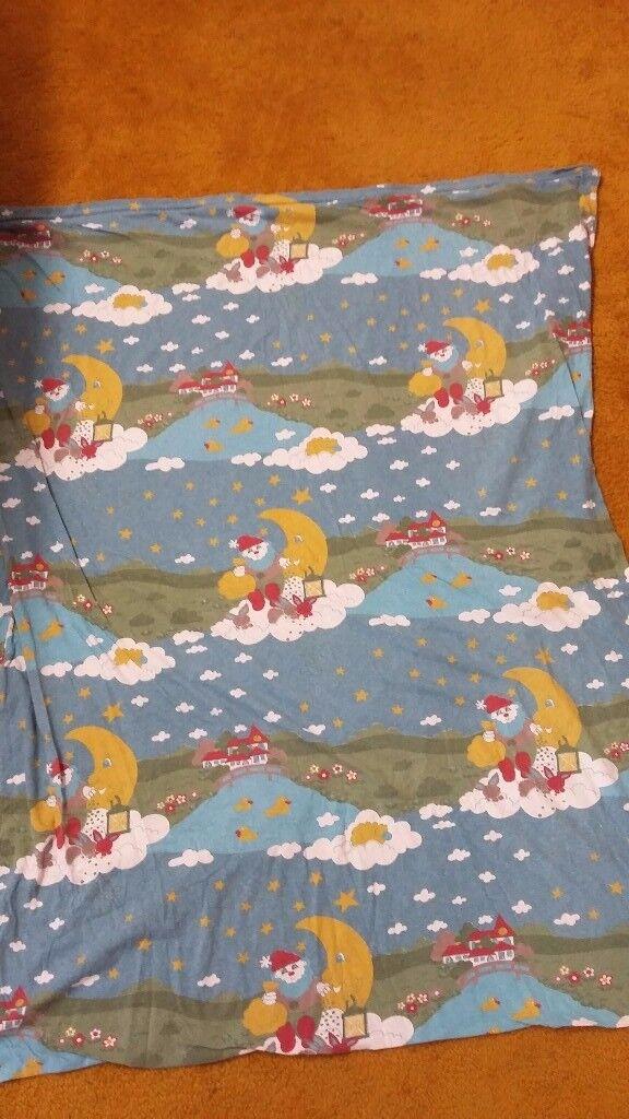 Biberna 100% cotton girl boy baby toddler duvet quilt cover 100×120 cm