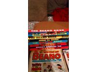 +150 full box Beano comics + Hardback + Hardback The Flinstones books