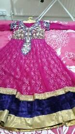 Pink dress size s/m