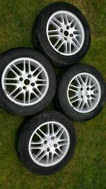 """Alloy Wheels Ford 4x108 Tyres 15"""""""