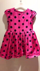 2-3 years lovely pink party dress