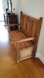 Wooden Settle
