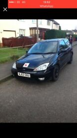 1 years mot on it yesterday automatic Ford Focus 03 plate