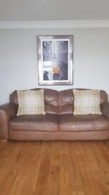 3,2,1 leather Sofa