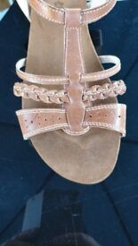 Size 8 M&S Gladiator sandals