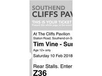 2 x Tim Vine tickets at the Cliffs Pavilion