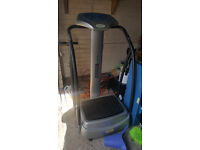 vibration plate in good working order