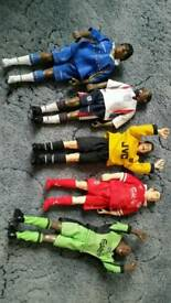 Collectable football dolls