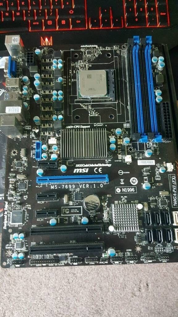 AMD FX 8350 + Motherboard | in Heywood, Manchester | Gumtree