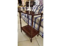 Two Tier Vintage Side / Drinks Table