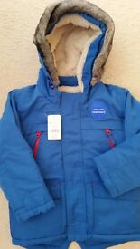 Boys brand new winter coat age 3-4 years
