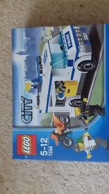 Lego 7286 police prisoner transport