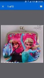Disney frozen coin purse brand new ideal for stocking fillers present add ons and birthdays