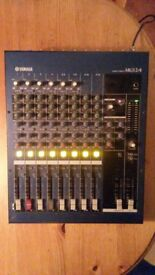 Yamaha MG12/4, 12 channel Mixing desk / console