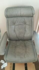 ekorness stressless leather recliner