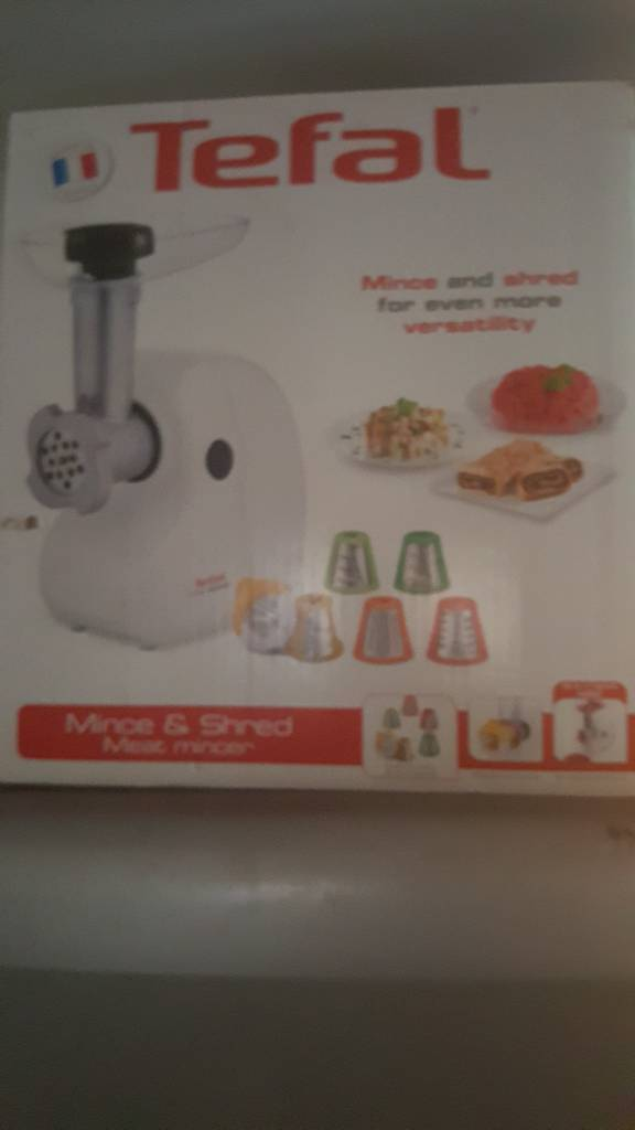 Tefal Mince and shred machine