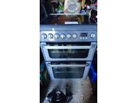 Gas and electric oven