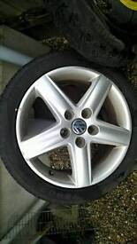 "Genuine Audi VW 17"" Alloys 5 * 112"