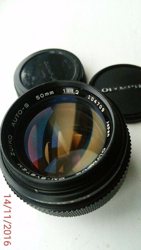 Olympus Zuiko 50mm 1.2 lens