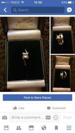 Platinum ring set