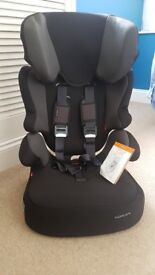 Brand new Kiddicare Traffic SP Group 1 2 3 Car Seat in Black and Grey