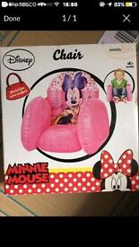 Minnie Mouse chairs NEW. Relisted