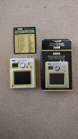 Korg Kaossilator with official power adapter