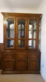 French style display cabinet