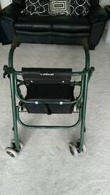 Uniscan 4 wheel walker