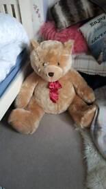 Large teddy bear as new